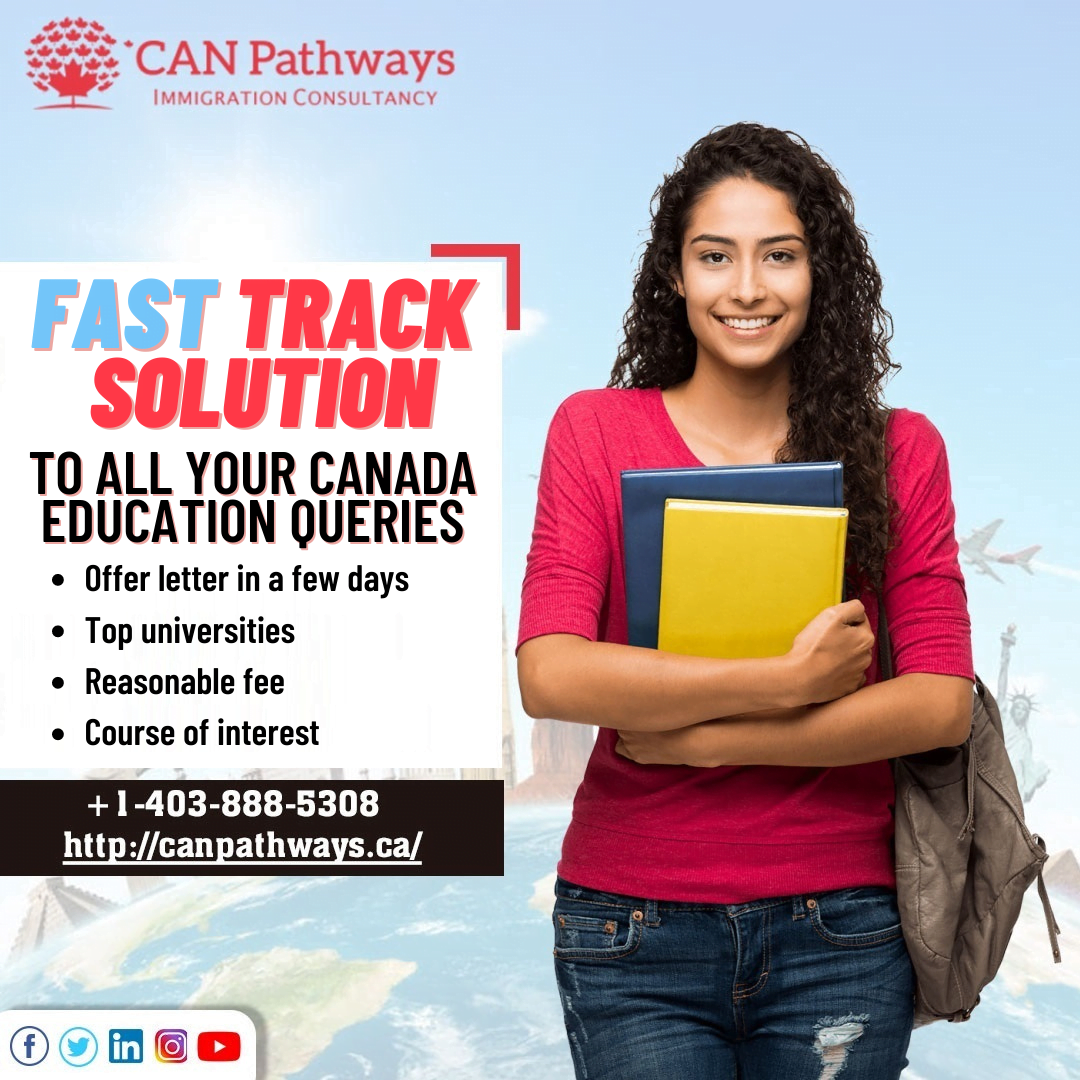 Fast track solution to all your Canada education queries